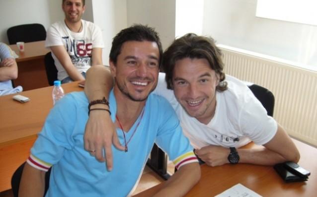 Милен Петков и Христо Йовов източник: Gong.bg, Стефан Стоянов