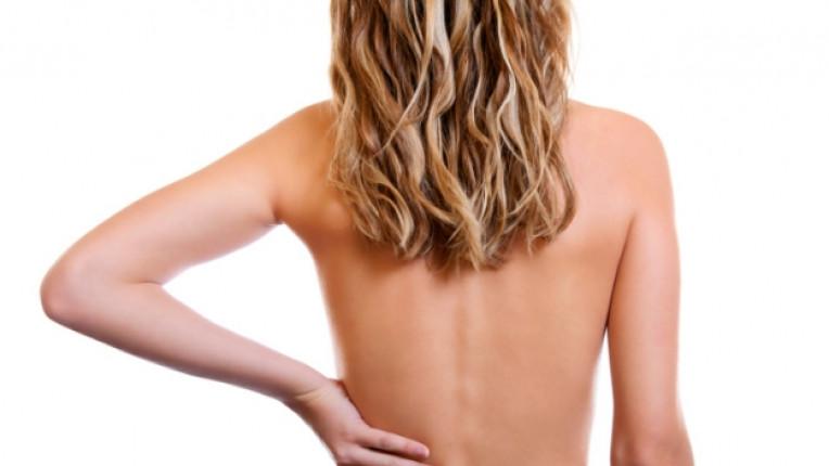 гръб жена тяло
