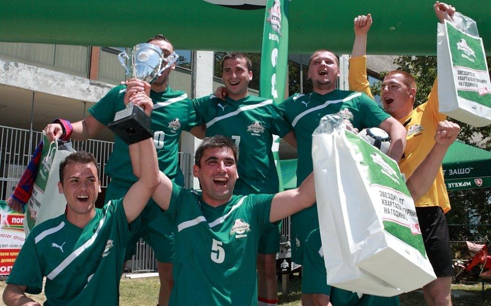 Атлетик Грамада - шампиони на Благоевград