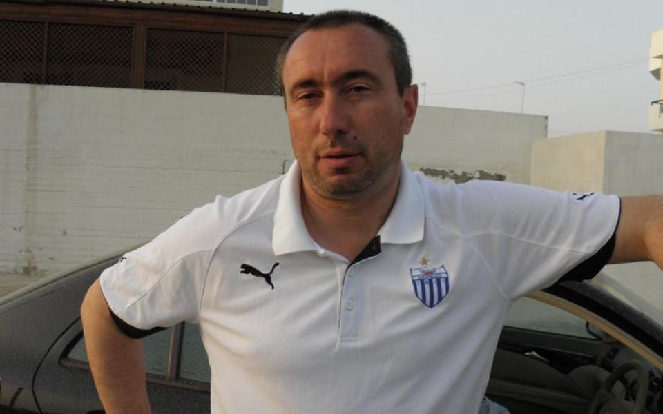 Мъри Стоилов: Не знам Левски да е канен на юбилейния турнир на Анортозис