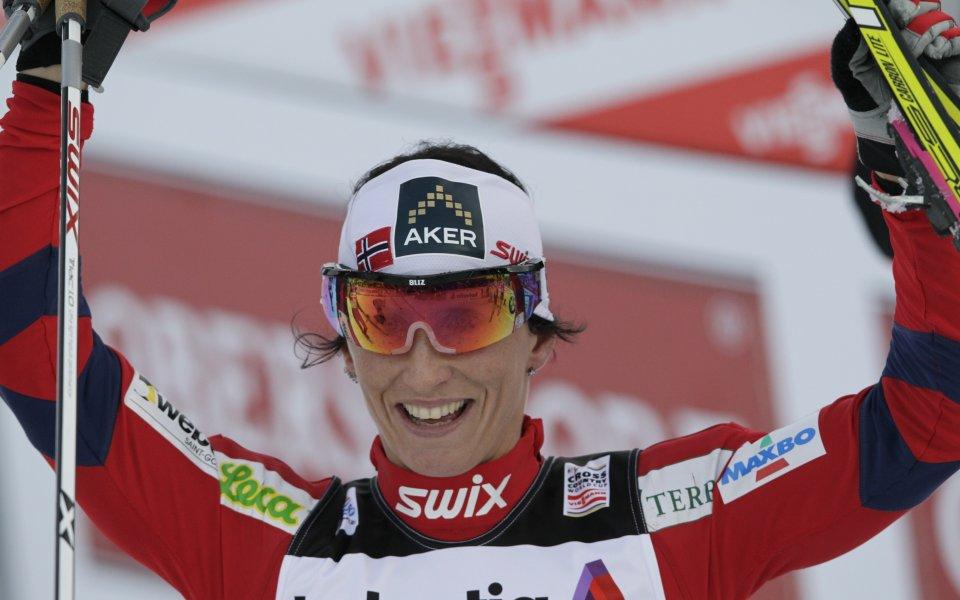 Марит Бьорген спечели третия етап на Тур дьо ски