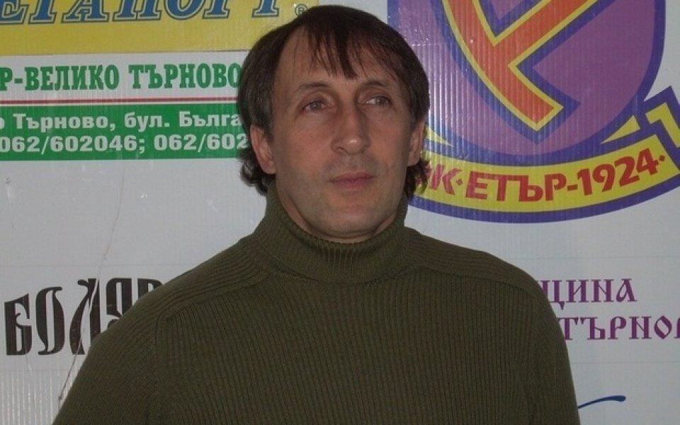 Цанко Цветанов: Естествената цел пред Етър е А група