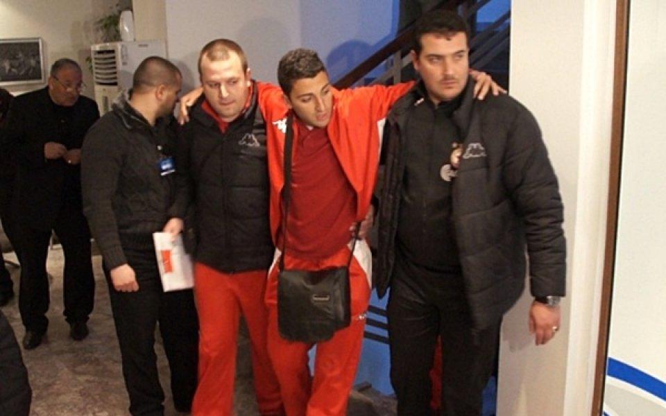 ВИДЕО: Диагнозата на новия в ЦСКА се потвърди – скъсани връзки
