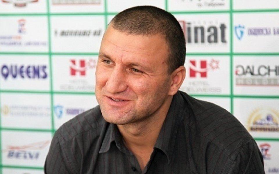 Костадин Ангелов: Ще се опитаме да победим Левски