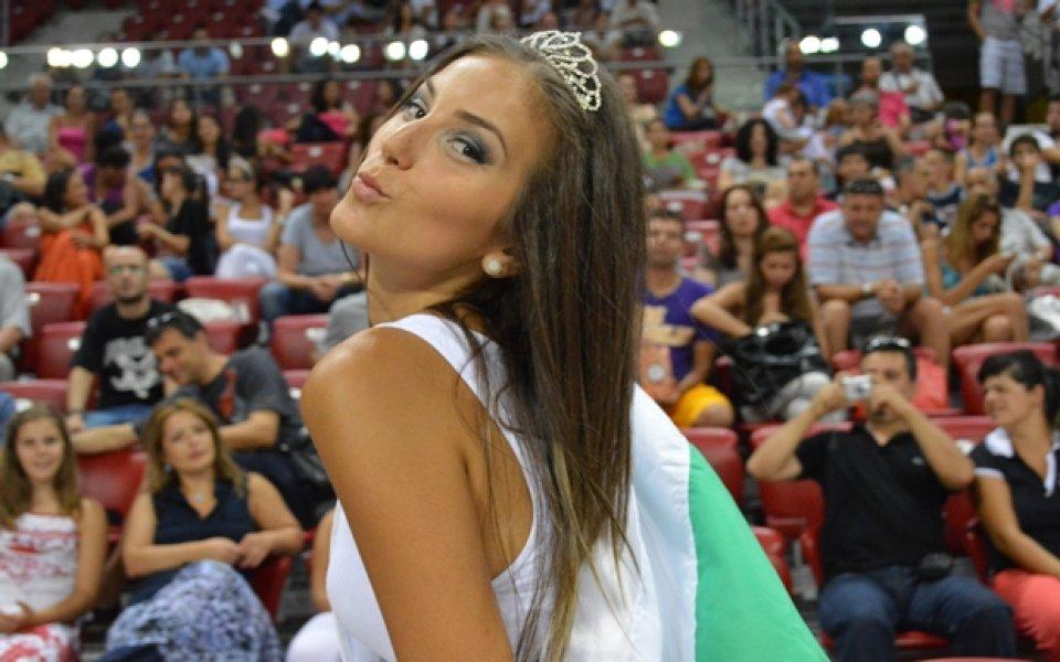 Мис Национален отбор- любимка на децата в Арена Армеец