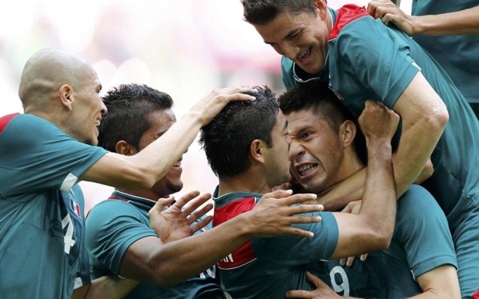 ВИДЕО: Мексико срази Бразилия за олимпийското злато във футболен спектакъл