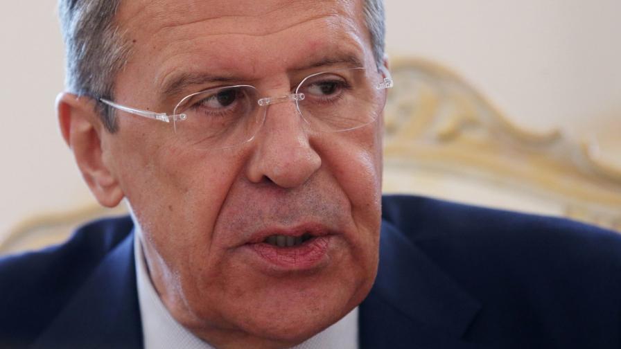 Сергей Лавров: Ако интересите ѝ бъдат атакувани, Русия ще отговори като в Грузия през 2008 г.