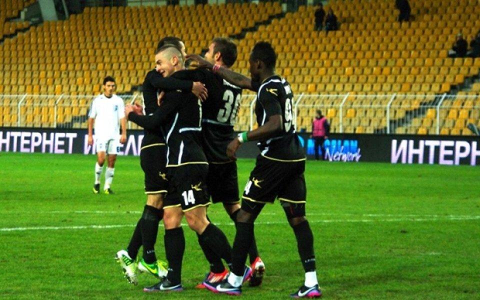 СНИМКИ: Черноморец разби Спартак Плевен и се класира за осминафиналите