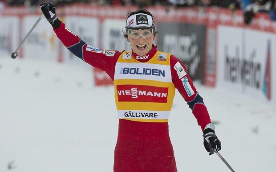 Бьорген и олимпийският шампион Крюков спечелиха първите спринтове за сезона