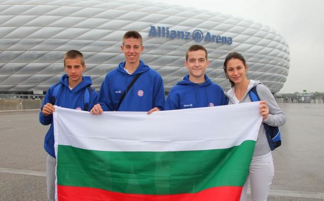 Трима бг младежи ще тренират с ФК Байерн Мюнхен