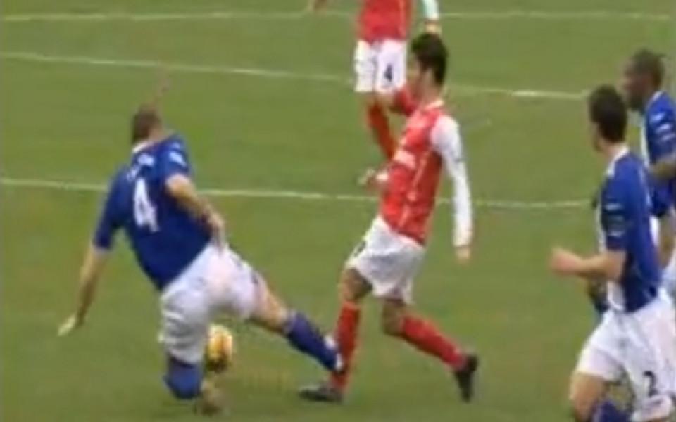 ВИДЕО: Топ 6 на най-зловещите нарушения във футбола