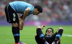 Кавани се сдърпа и с Луис Суарес