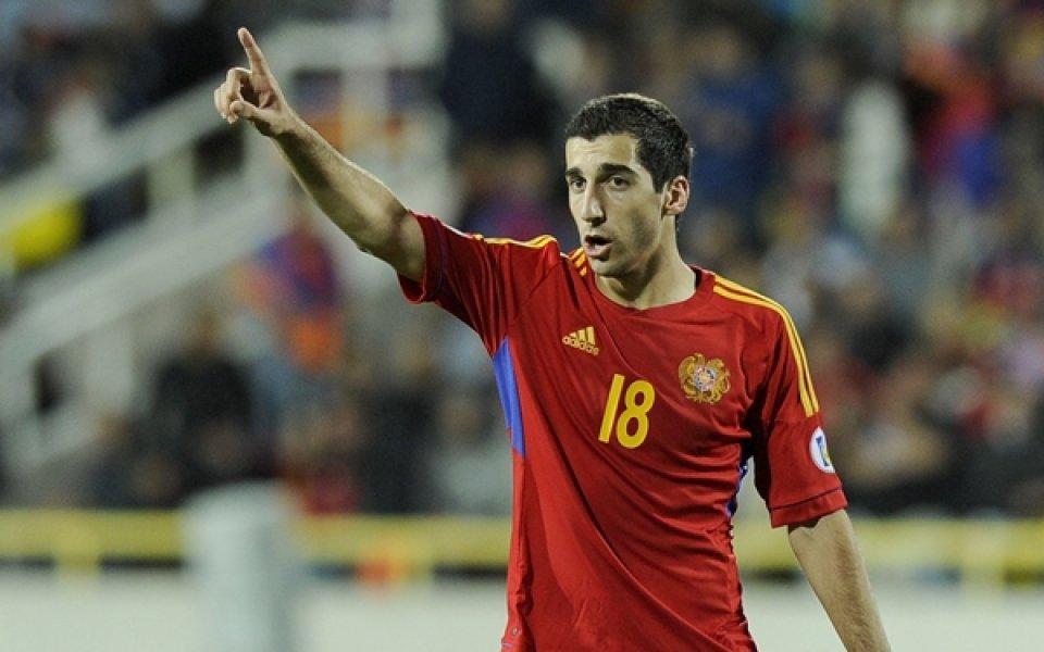 Мхитарян герой за Армения в мач с шест гола