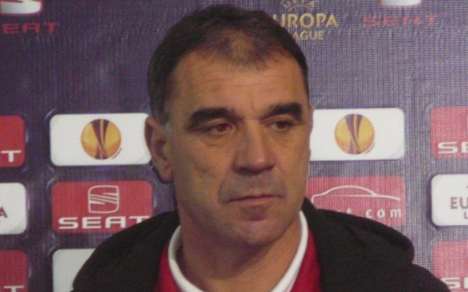 ЦСКА пак сложи Сашо Борисов за треньор