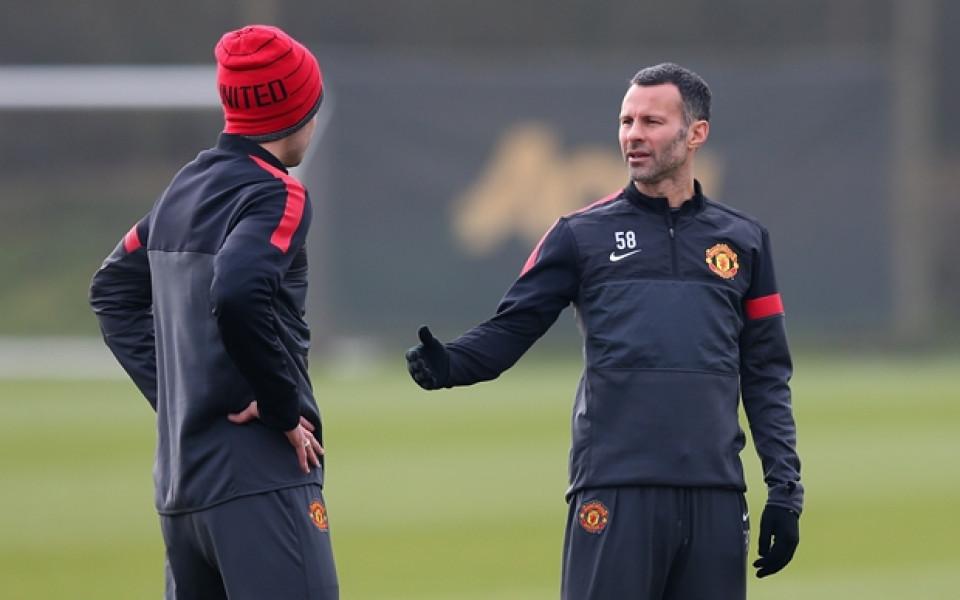 Райън Гигс стана играещ треньор на Юнайтед