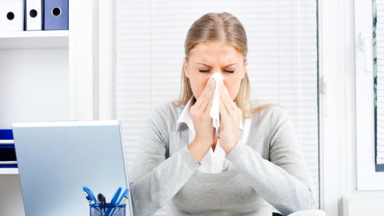 алергия настинка