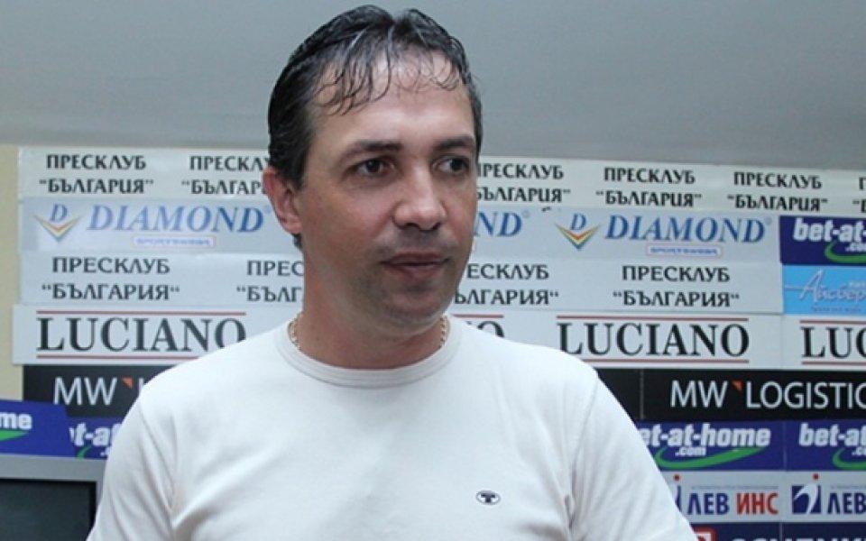 Антон Велков: Двубоите за Купата трябва да се играят в един мач