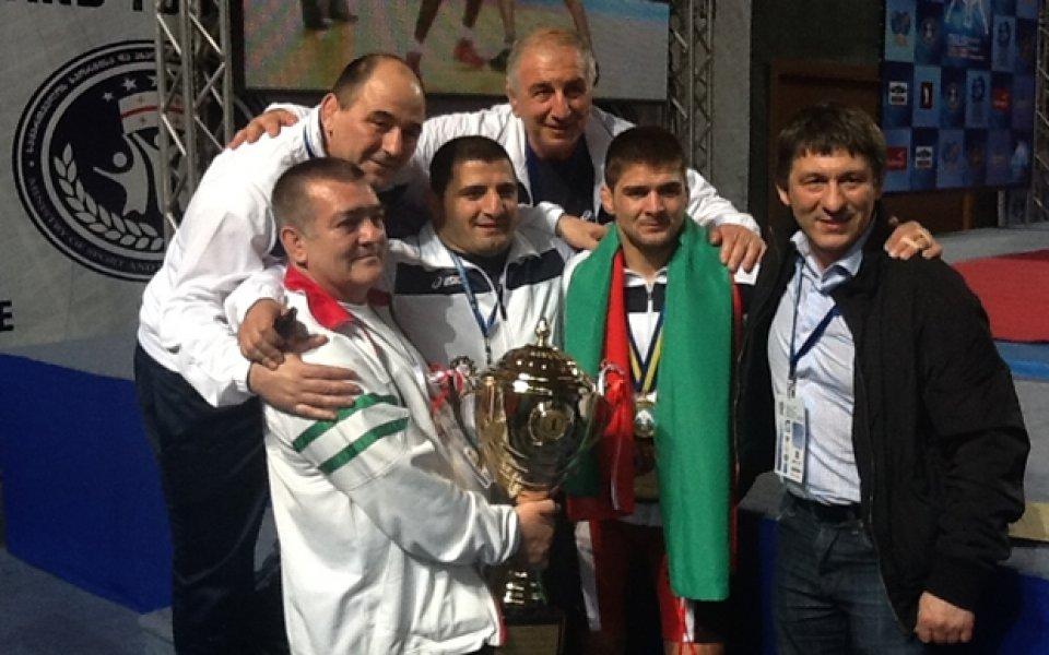 Иво Ангелов е световен шампион в категория до 60 кг.