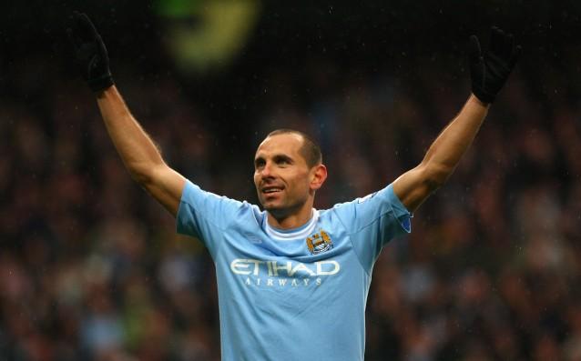 Мартин Петров с екипа на Манчестър Сити<strong> източник: Gulliver/Getty Images</strong>