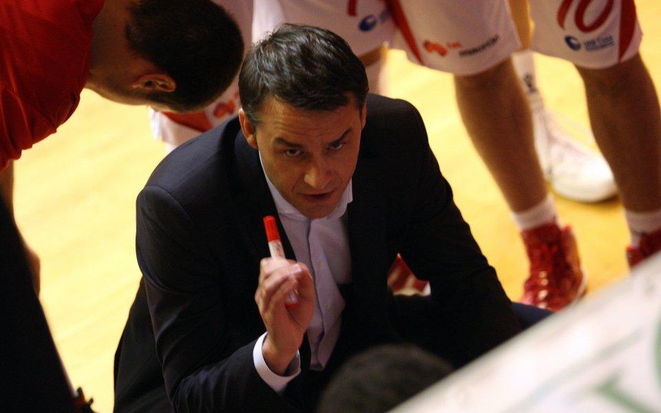 Оливер Костич: Надявам се на добър мач, за да запишем първа победа в Еврокъп