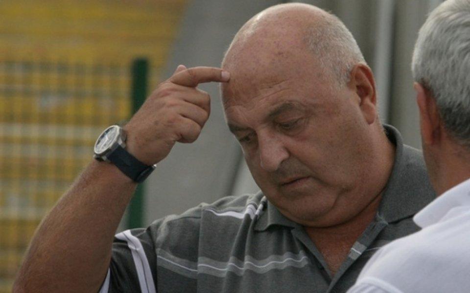 Стефанов: Безкрайно съм разочарован, нашите футболисти мислеха, че мачът се играе 60 минути