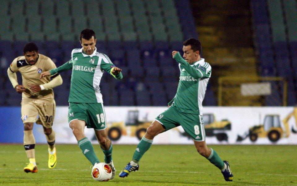 Динамо Загреб е с предимство пред Лудогорец