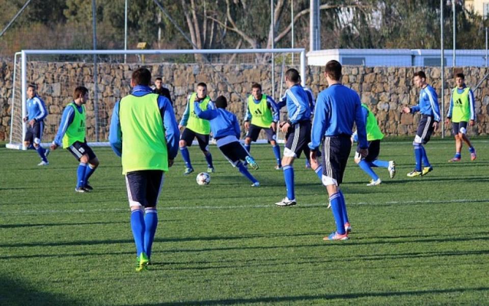 Любимец продължава с класните контроли – играе срещу Рубин Казан