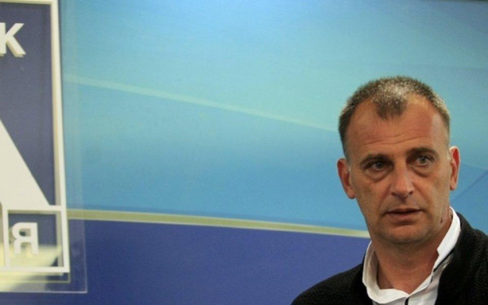 Тони Здравков: Доволен съм от играта, съдията беше неадекватен