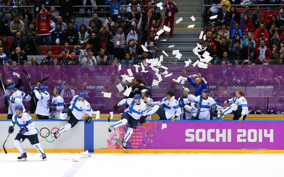 42% от финландците са гледали хокейния мач срещу САЩ