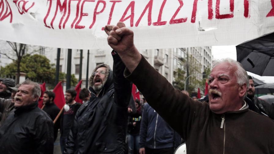 За четири години в Гърция – 20 хил. демонстрации