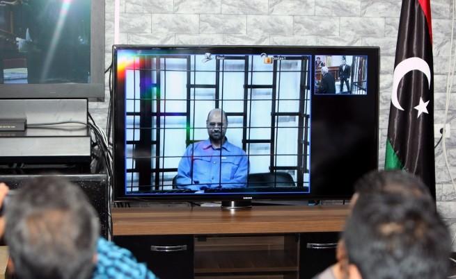 Сейф ал Ислам се яви пред съда в Триполи чрез видеоконферентна връзка