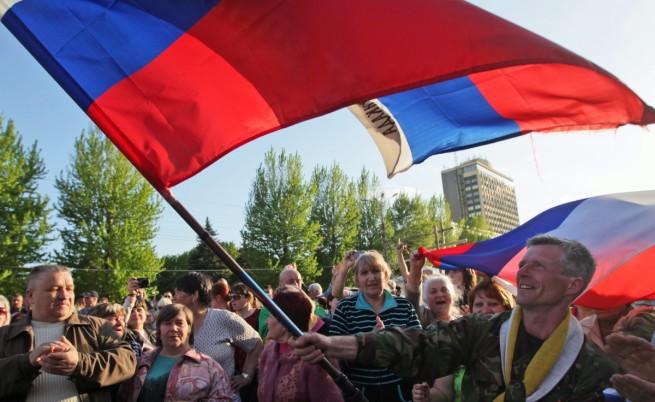 """И в Луганск обявиха създаването на """"народна република"""""""