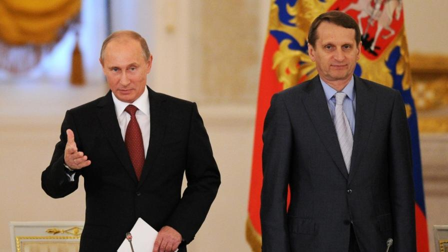 Сергей Наришкин и Владимир Путин