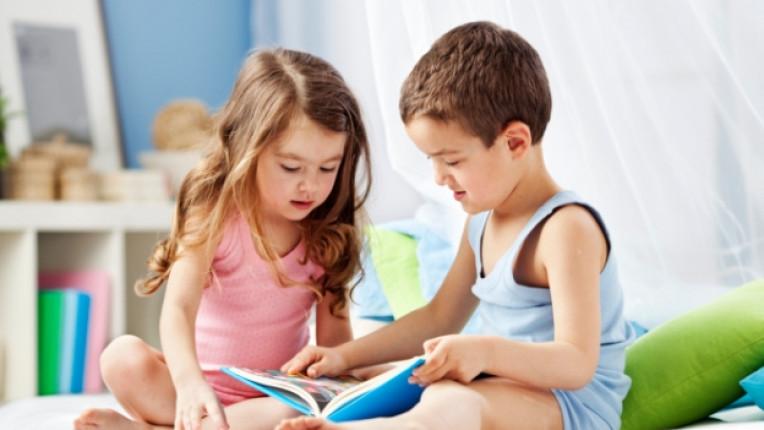деца книга книги четене