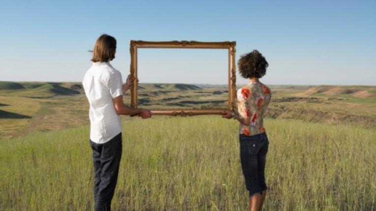 двойка мечта хоризонт бъдеще