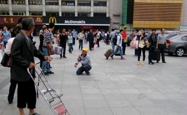 Ново нападение с нож на китайска жп гара