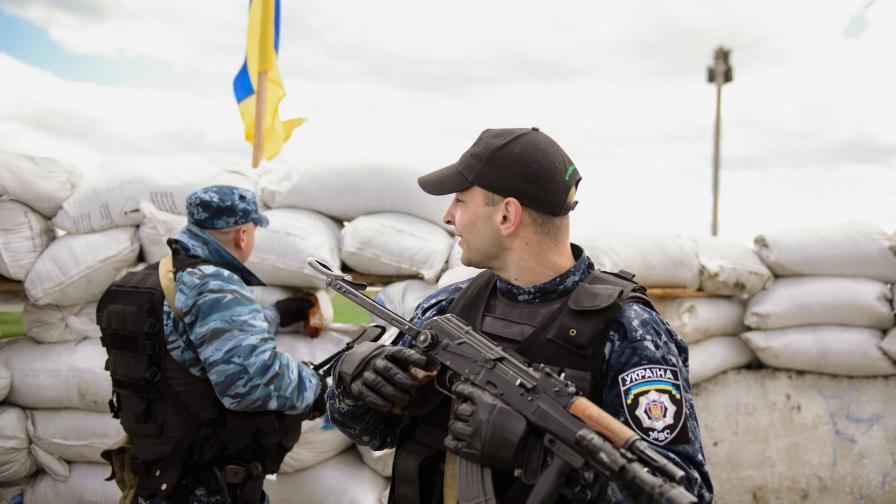 Напрежението преди референдума в Източна Украйна продължава