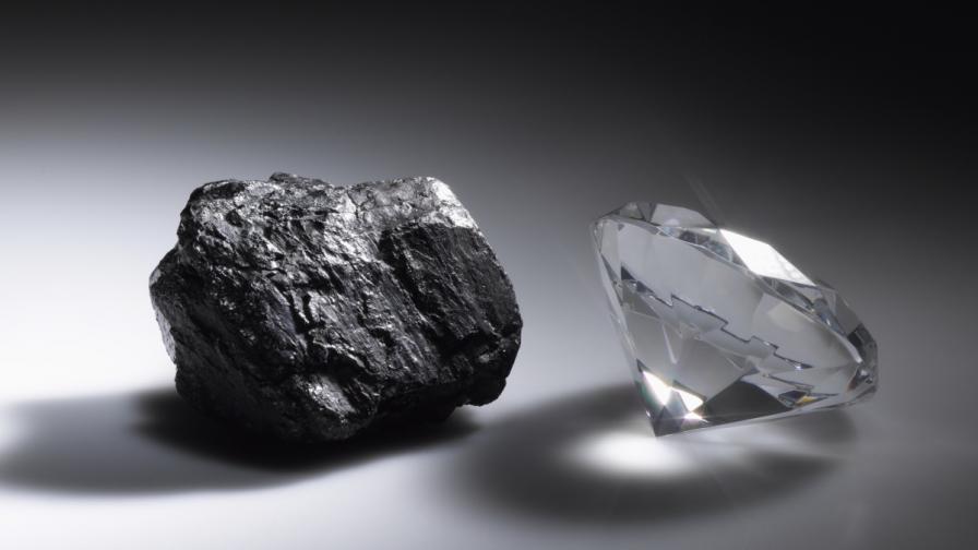 В Русия откриха уникален диамант с друг диамант