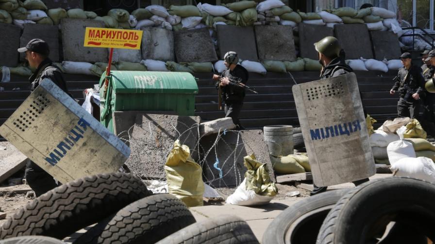 Сражения избухнаха в Мариупол, 20 убити