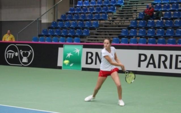 Юлия Стаматова<strong> източник: БФ Тенис</strong>