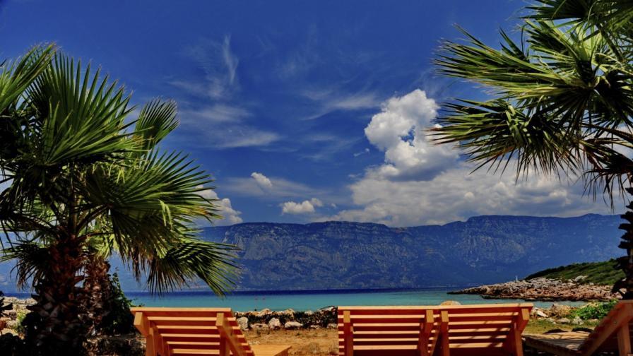 На снимката: Островът на Клеопатра, Мармарис