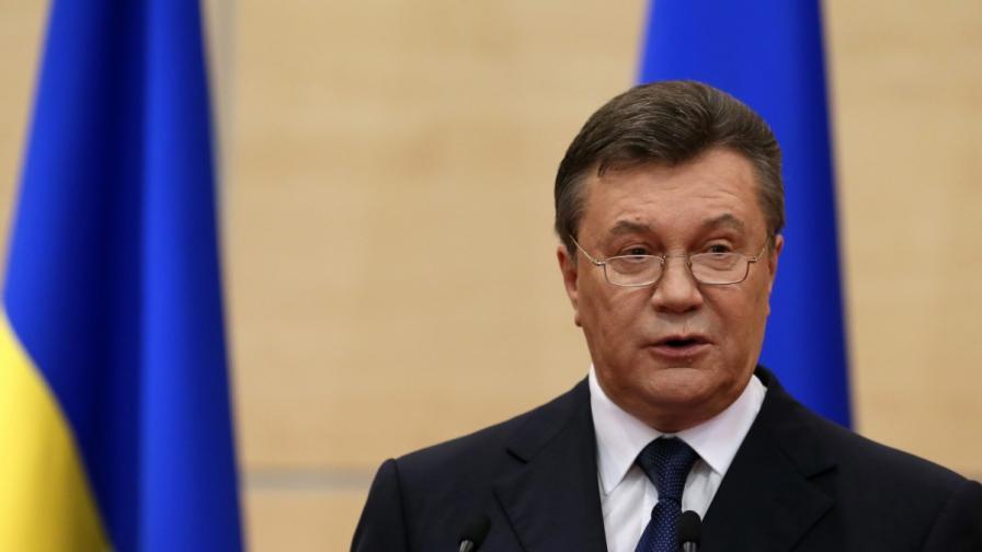 Янукович: Търпението на украинците стигна своя предел