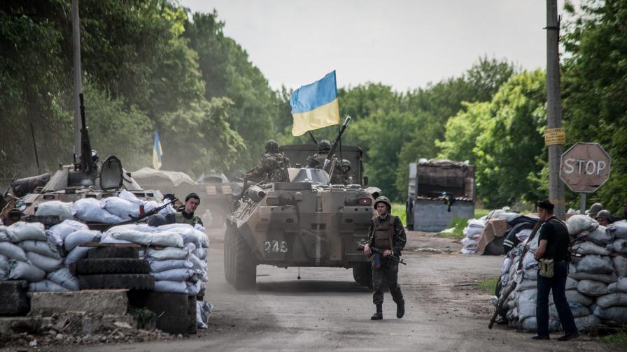 Шестима украински военни са били убити при засада край Краматорск