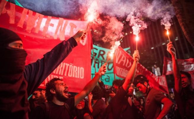 Хиляди бразилци отново протестираха срещу Мондиала