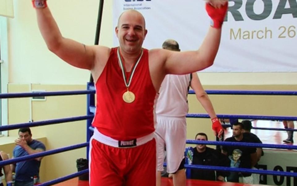 Служителите на старозагорския затвор с първо място на боксов турнир