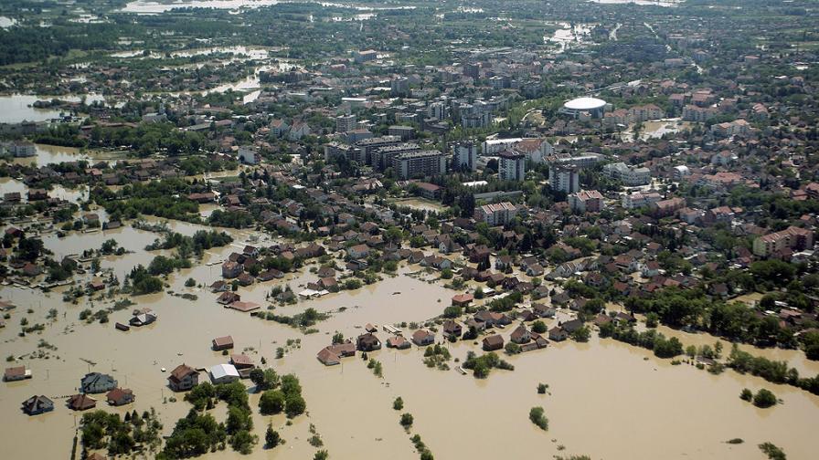 По време на наводненията в Сърбия са изчезнали близо 800 души