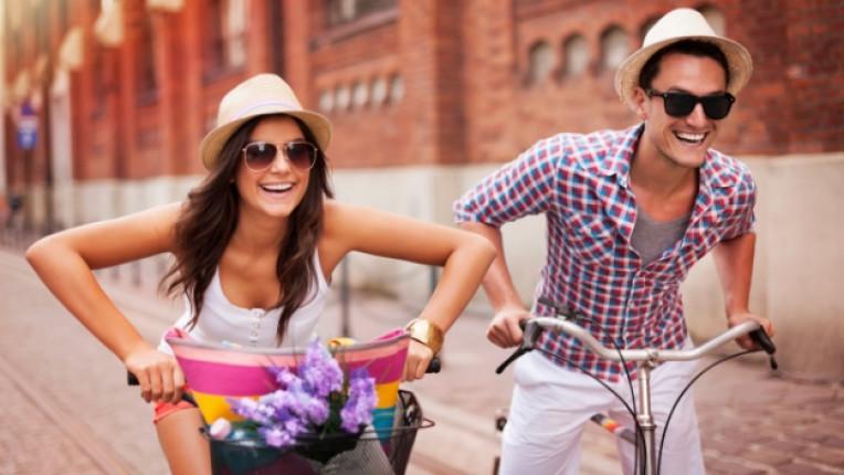 връзка колело велосипед двойка щастие любов