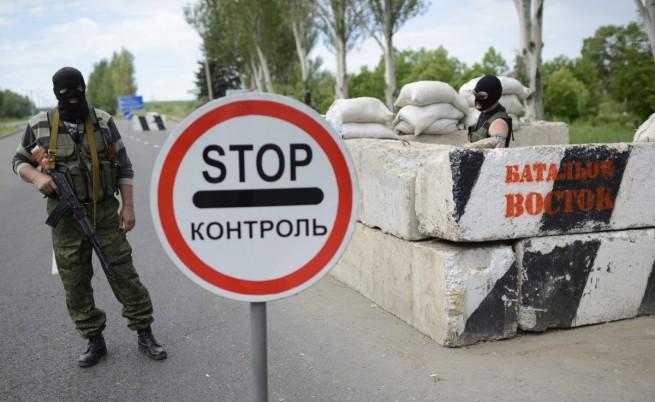 Многохилядни протести срещу изборите в Донецк