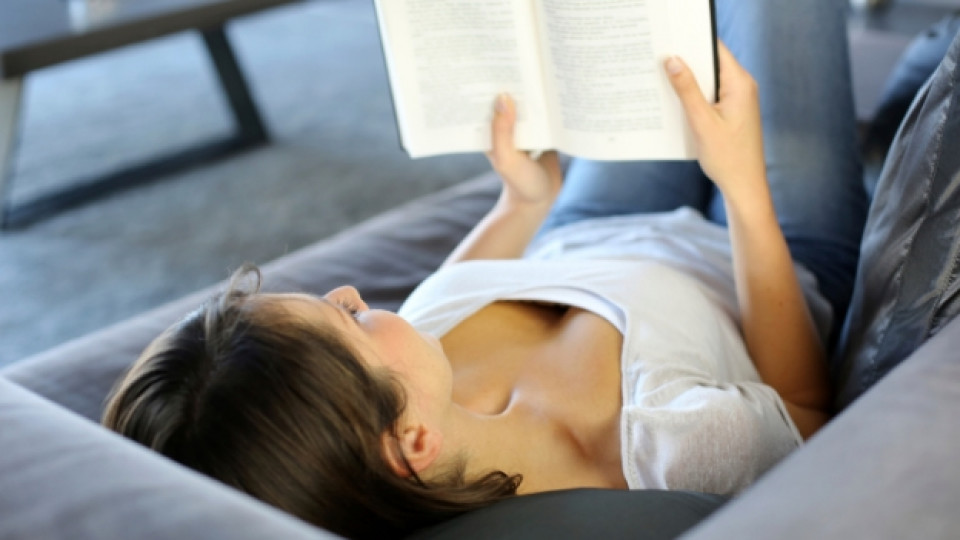 Четенето намалява стреса