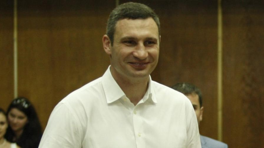 Виталий Кличко е новият кмет на Киев